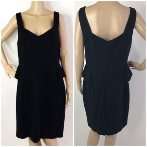 Trina Turk Black Carmichael Dress Sz 12 New